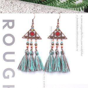 EARRINGS | Boho Triangle Earrings